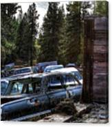 Wrecking Yard Study 22 Canvas Print