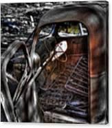 Wrecking Yard Study 5 Canvas Print