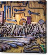 Wrenches Galore Canvas Print