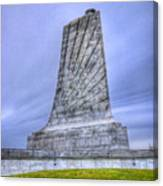 Wright Brothers Memorial Canvas Print
