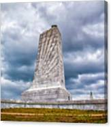 Wright Brothers National Memorial  Canvas Print