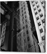 Wrigley Building Reflections Canvas Print