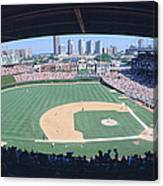 Wrigley Field, Chicago, Cubs V Canvas Print