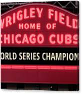 2e05c41c1d Wrigley Field Marquee Cubs World Series Champs 2016 Front Photograph ...