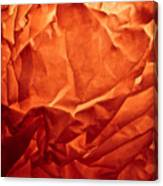 Wrinkled Passion Canvas Print