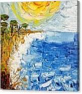 Writhing Sea Canvas Print