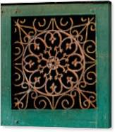 Wrought Iron Circle Canvas Print