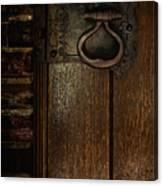 Wrought Iron Door Latch Canvas Print