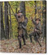 Wulff's Rangers At Schoenbrunn Village Canvas Print