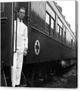 Ww I: Red Cross Railroad Canvas Print