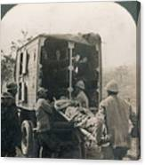 Ww I: Wounded/medics Canvas Print
