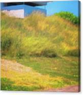 Ww II Fortification Canvas Print
