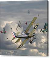 Ww1 - 'wings' Canvas Print