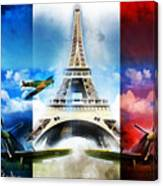 Ww2 France Canvas Print