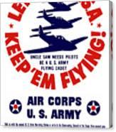 Us Army Air Corps - Ww2 Canvas Print