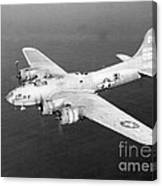 Wwii, Boeing B-17 Flying Fortress, 1940s Canvas Print