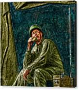 Wwii Radioman Canvas Print