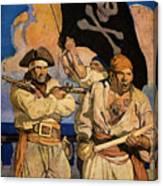 Wyeth: Treasure Island Canvas Print