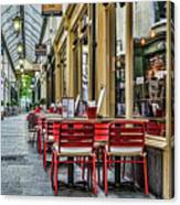 Wyndham Arcade Cafe 1 Canvas Print