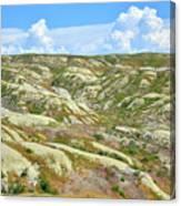 Wyoming Badlands Canvas Print