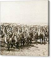 Wyoming: Cowboys, C1883 Canvas Print
