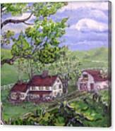 Wyoming Homestead Canvas Print