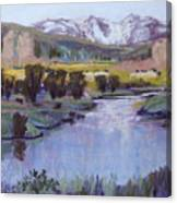 Wyoming River Canvas Print