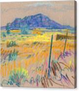 Wyoming Roadside Canvas Print