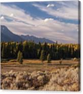 Wyoming Scenery One Canvas Print