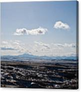 Wyoming Skies Canvas Print