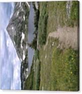 Wyoming Snow'y Range Canvas Print