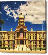 Wyoming State Capitol - Cheyenne Canvas Print