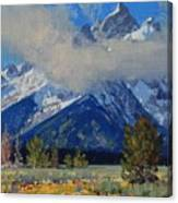 Wyoming Summer Canvas Print