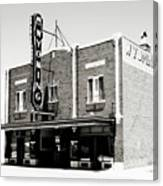 Wyoming Theater 2 Canvas Print