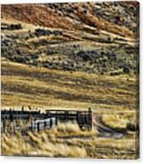 Wyoming X Canvas Print