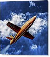X-1 Glamorous Glennis In Oil Canvas Print