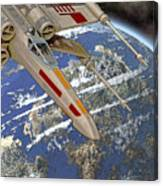 10105 X-wing Starfighter Canvas Print