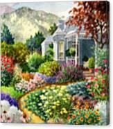 Xeriscape Garden Canvas Print