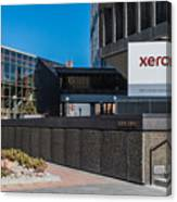 Xerox Tower Entrance Canvas Print