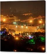Xian City Lights Canvas Print