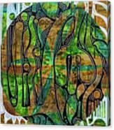 Xibalba Forest Canvas Print