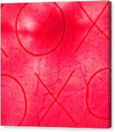 Xoxo 1 Canvas Print