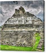 Xunantunich  El Castillo Canvas Print