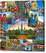 Ya Gotta Love New Orleans 2 Canvas Print