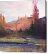 Yaak Cabin Canvas Print