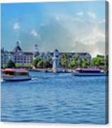 Yacht And Beach Club Walt Disney World Canvas Print