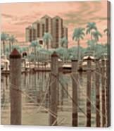 Yacht Basin Canvas Print