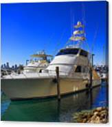 Yacht Watch Series 09 Canvas Print