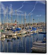 Yachts And Things Canvas Print