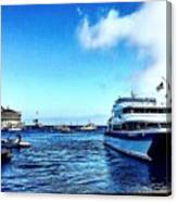 Yachtsee Canvas Print